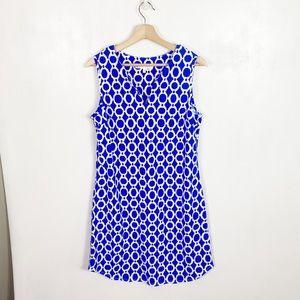 Jude Connally Allison Blue Shift Dress